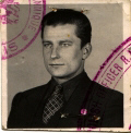 Passport photo, Bucharest 1939