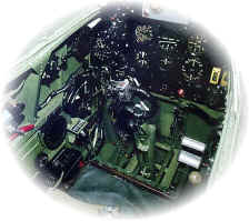 Interior of PR spitfire PM627 flown by Mitrek out of Berlin in 1951